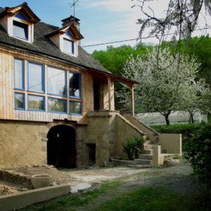 Rénovation écologique d'une maison de vigneron du 18ième siècle