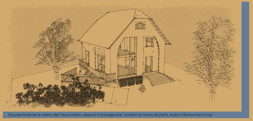 Conception bioclimatique d'une maison passive isolée en paille