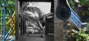 La maison en bois sur pilotis de Philippe à Kompong Thom